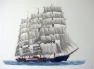Passat - Gouache 35 x 30 cm